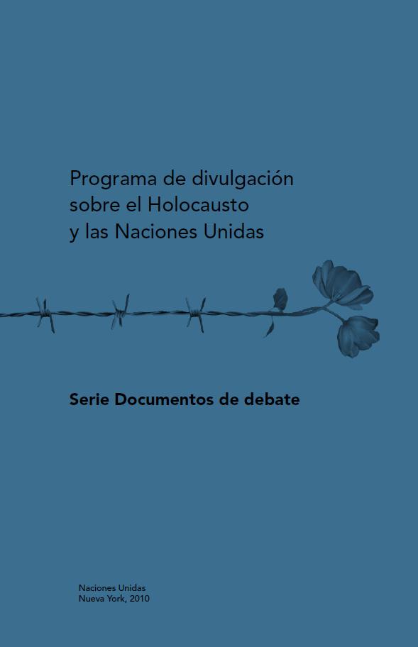 Programa de divulgación sobre el Holocausto y..