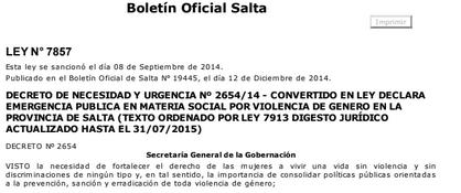Decreto de Necesidad y Urgencia Nº 2654/14 - ..