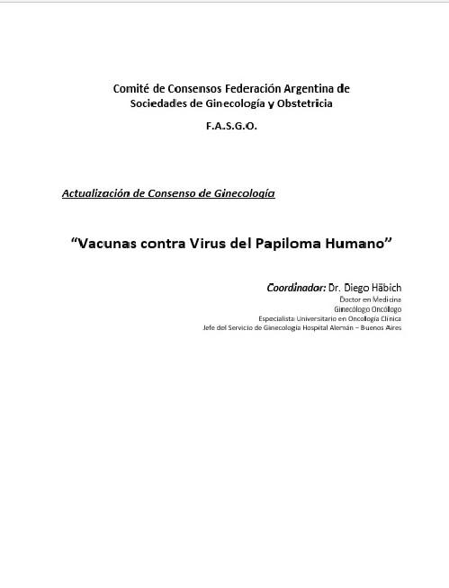Vacunas contra Virus del Papiloma Humano
