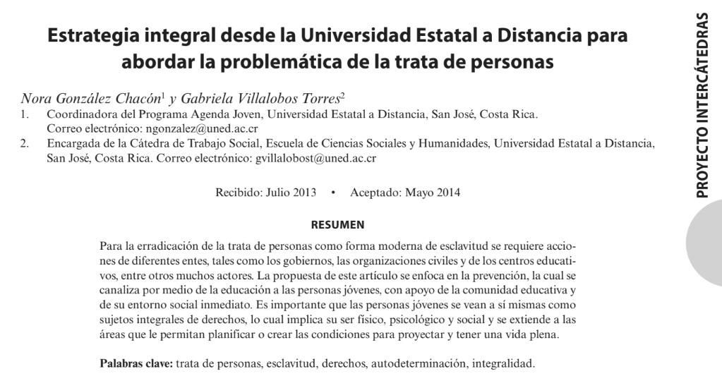 Estrategia integral desde la Universidad Estat..