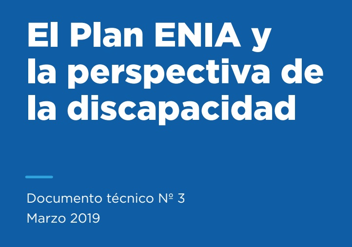 El Plan ENIA y la perspectiva de la discapacid..