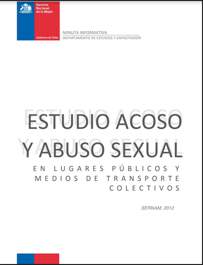Estudio acoso y abuso sexual en lugares públi..