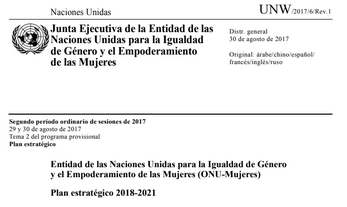 Entidad de las Naciones Unidas para la Igualda..