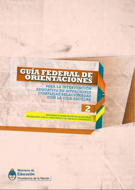 Guía federal de orientaciones para la interve..