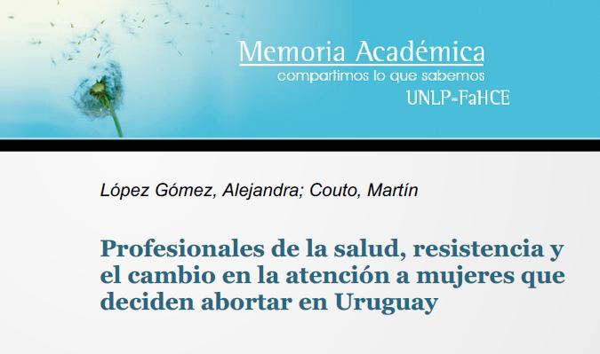 Profesionales de la salud, resistencia y el ca..