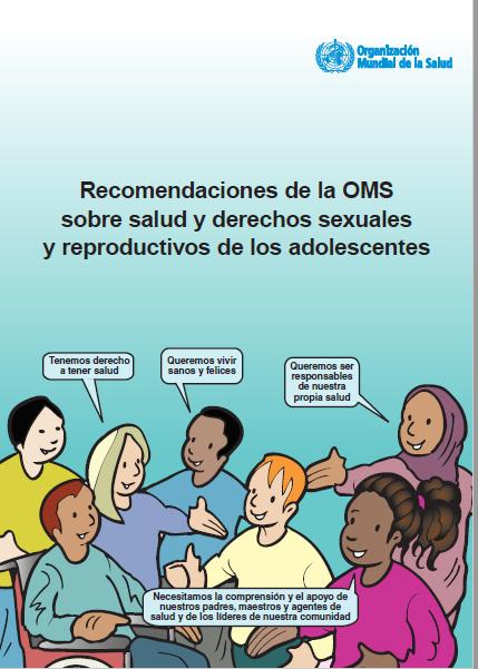 Recomendaciones de la OMS sobre salud y derech..
