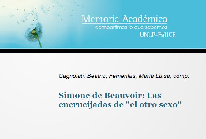 Simone de Beauvoir: Las encrucijadas de