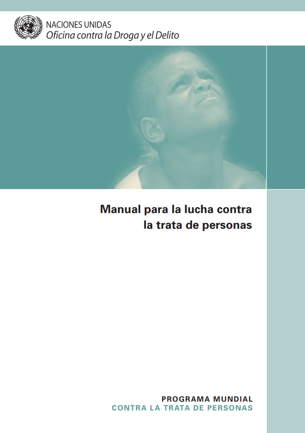 Manual para la lucha contra la trata de person..